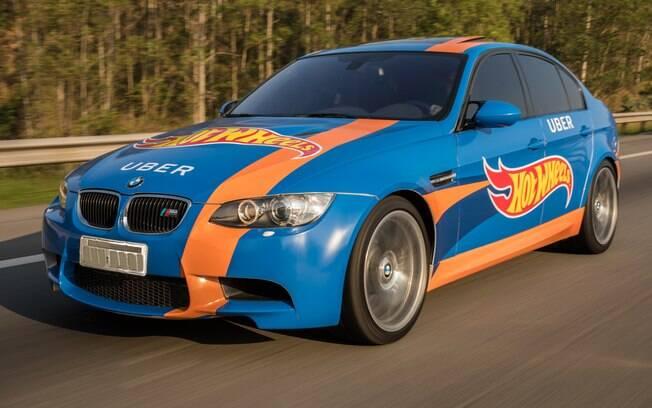 BMW M3 : esportivo com motor V8, de 420 cv, capaz de acelerar de 0 a 100 km/h em apenas 4,8 segundos