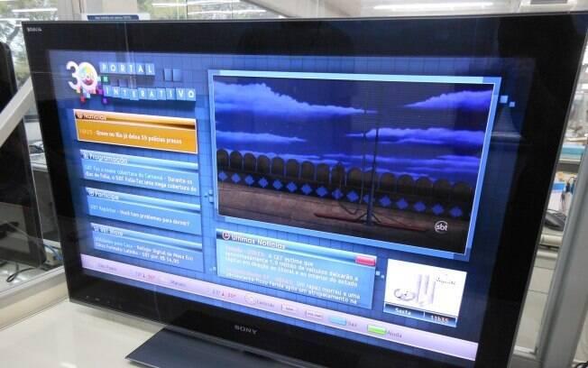 SBT é a única emissora que transmite conteúdo interativo para Ginga 24 horas por dia