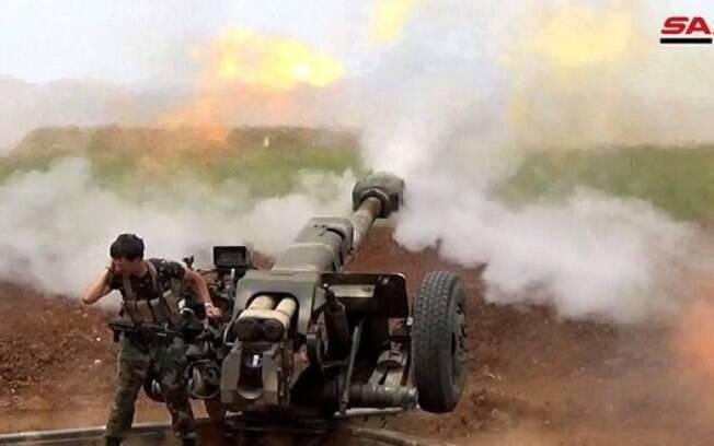Israel bombardeou a Síria e deixou 10 mortos na madrugada deste domingo (02)