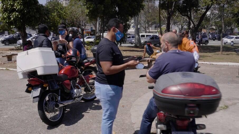 Condutores cadastrados até o momento no Programa Motofretista Seguro tem renda familiar média de R$ 2,3 mil