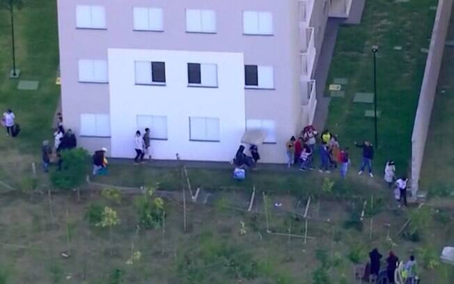 Invasão ao conjunto habitacional na zona leste: ocupantes deixam local após confronto
