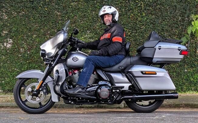 Harley-Davidson CVO Limited: O suprassumo das motocicletas para longas viagens