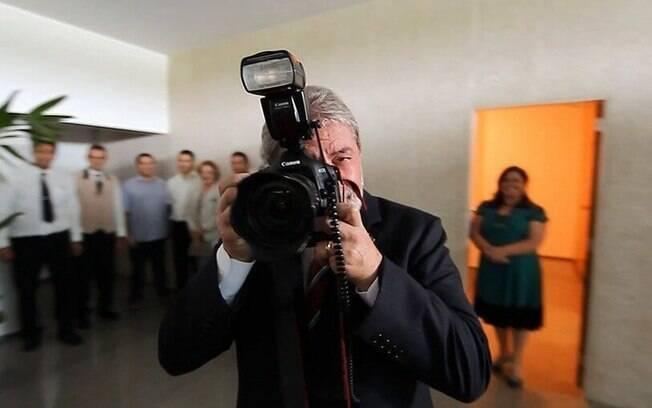 Lula no último dia como presidente em cena de Democracia em Vertigem