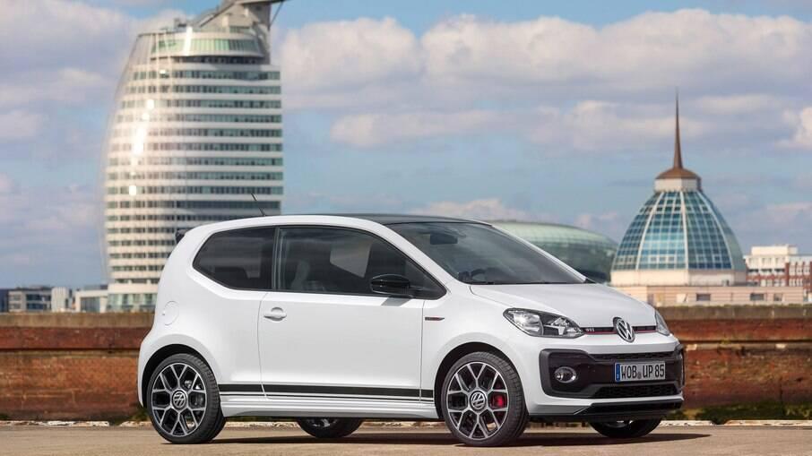 Volkswagen Up! GTI: versão esportiva, de 115 cv, bem que poderia ter chegado ao Brasil, para deleite dos fãs do modelo