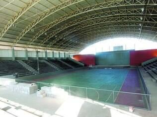 Estrutura. O complexo sete-lagoano conta com ginásio e área para outros esportes
