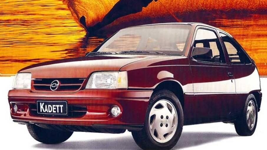O Kadett Sport, uma tentativa de cativar os apreciadores dos esportivos da Chevrolet