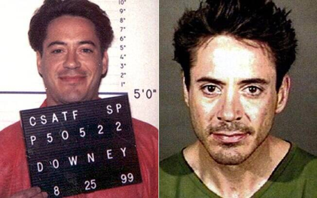 Entre 1996 e 2001, a carreira de Downey Jr. foi marcada por passagens em rehabs e prisões