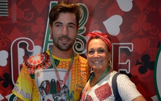 Susana Vieira e Sandro Pedroso