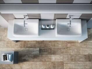 Visual. Porcelanato Arbo HD Peroba reproduz com preciosismo as características da madeira entalhada