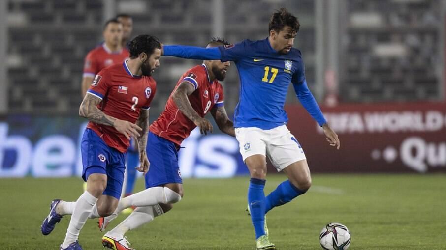 Chile x Brasil