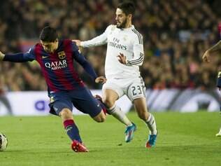 Diante do Real, Suárez marcou seu 14º tento pelo clube catalão na temporada