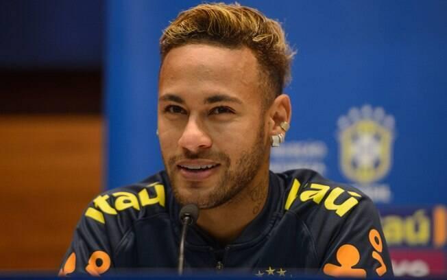 Neymar em entrevista coletiva