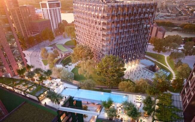 Apartamentos no complexo podem custar até R$ 2,3 milhões