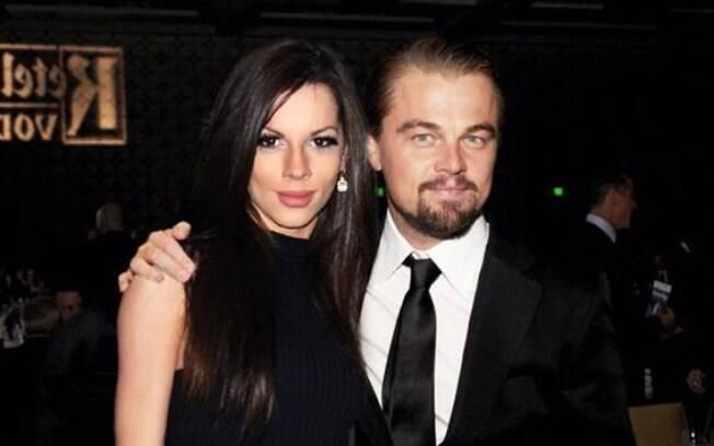 Aline Martins e Leonardo DiCaprio