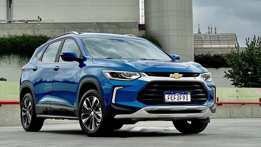 Chevrolet Tracker foi o SUV mais vendido do mês de março, superando o rival Jeeo Renegade por 224 unidades