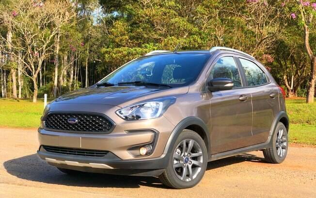 Ford Ka: mesmo sem grandes mudanças, o compacto da marca americana se mantém entre os três carros mais vendidos