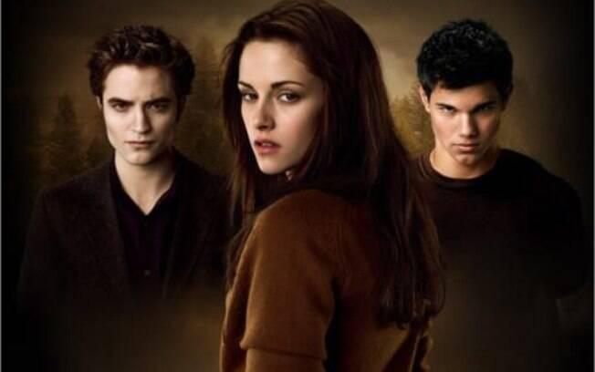 Edward e Jacob disputaram Bella durante toda a saga