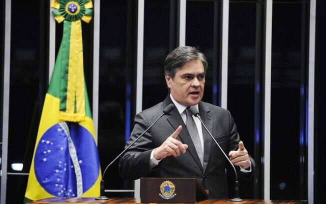 O senador Cássio Cunha Lima (PB) é um dos indicados do PSDB para compor a comissão do impeachment no Senado. Foto: Edilson Rodrigues/Agência Senado - 7.3.16