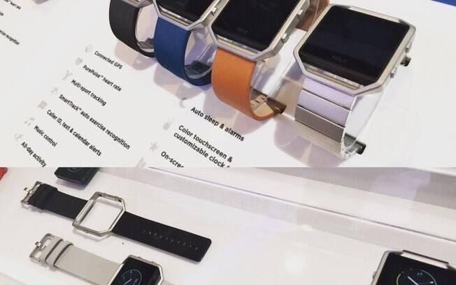 e0f69d28e24 O relógio inteligente Fitbit Blaze é voltado principalmente para o público  fitness