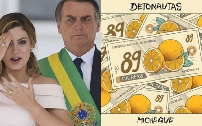 Michele e Jair Bolsonaro