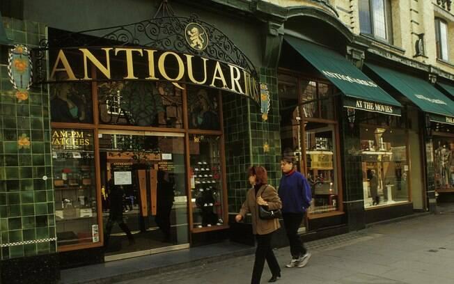 A Kings Road tem uma enorme variedade de lojas e restaurantes