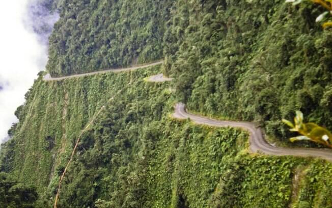 Camino a Los Yungas: não a toa é chamada de estrada da morte
