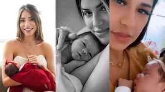 Famosas que celebram primeiro Dia das Mães
