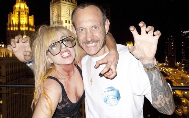A amizade entre Terry e Gaga é de longa data