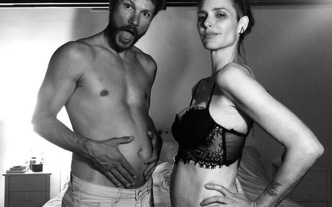 Fernanda Lima teve os sintomas apenas na segunda gravidez