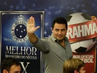 Alexandre Mattos se despede do Cruzeiro em coletiva nesta terça-feira (9)