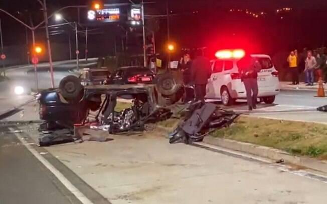 Motorista morre após acidente na John Boyd, em Campinas