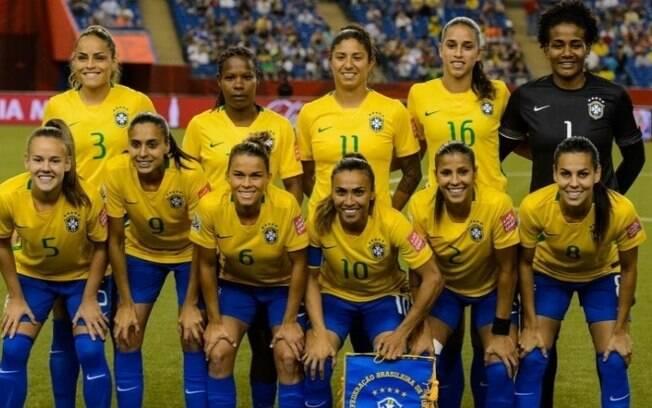 Seleção brasileira feminina nunca venceu uma Copa do Mundo