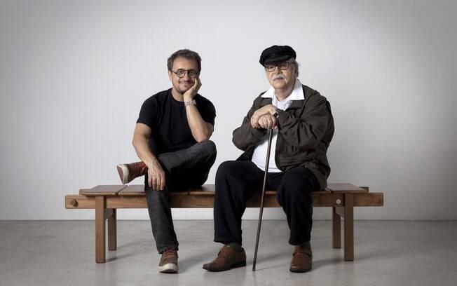 O designer Fernando Mendes e o arquiteto Sergio Rodrigues expõem 12 peças na mostra de São Paulo