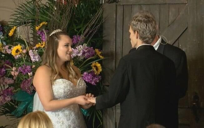 O casamento aconteceu no último domingo (28) e contou a doação de muitas pessoas da internet