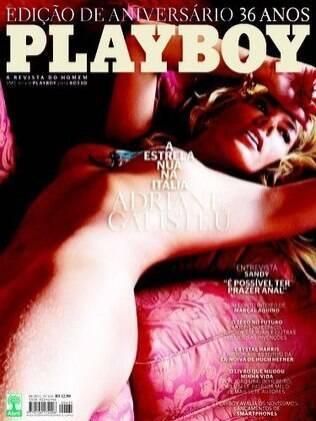 Adriane Galisteu é capa da edição de aniversário de 36 anos da revista Playboy