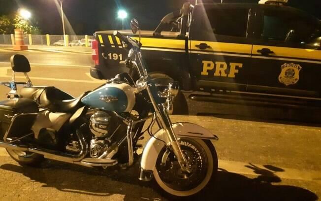 Harley-Davidson de R$60 mil foi roubada em SP no ano passado
