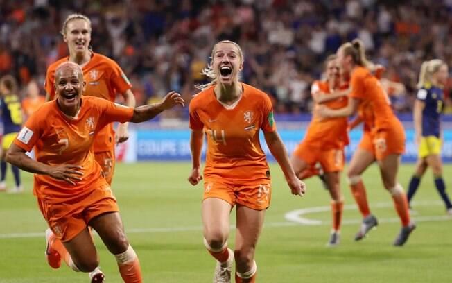 Groenen foi a autora do gol da Holanda contra a Suécia, na prorrogação, que colocou o time na final do Mundial