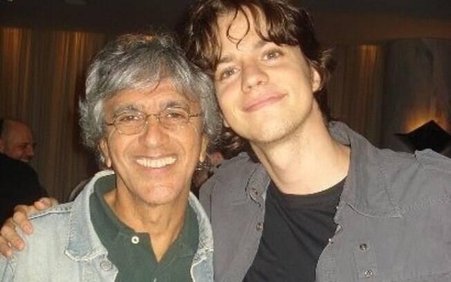 Fernando Grostein e Caetano Veloso