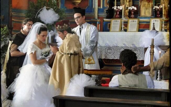 Padre Joaquim se recusou a realizar o casamento e um falso pároco foi chamado às pressas