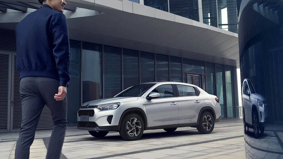 Citroën C3L deverá ser o sedã que será feito em Porto Real (RJ) até 2024, com a mesma base CMP do C3 SUV