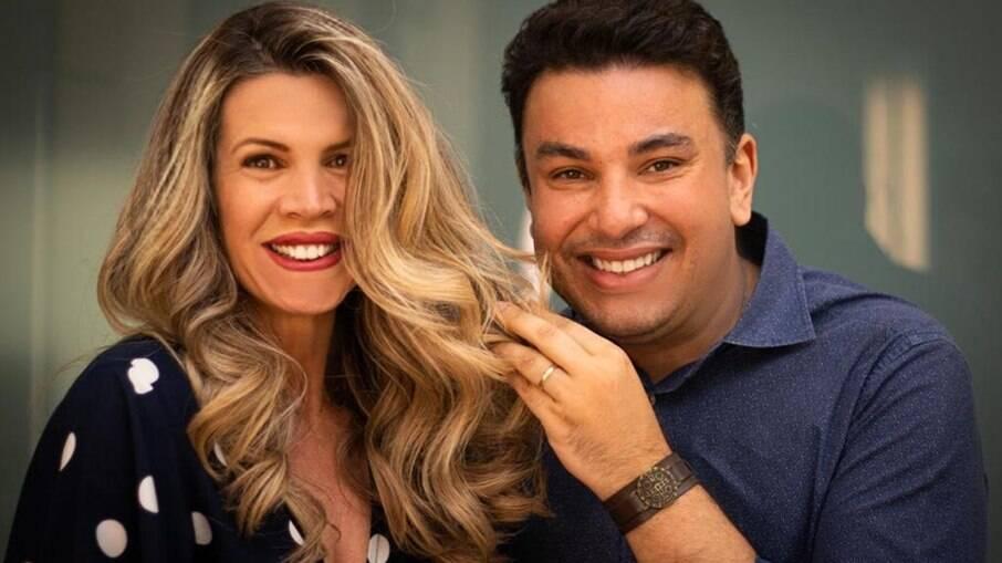 Cida Marques e Robson Jassa