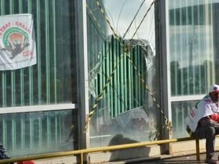 Participantes da ação disseram que a ocupação foi uma manifestação contra o corte orçamentário anunciado pelo governo