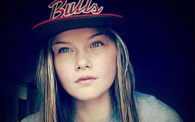 Lisa Borch, de 15 anos: ela planejava viajar para a Síria para se juntar ao grupo terrorista