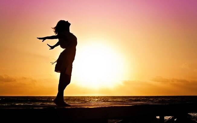 Sua Felicidade depende de como você se sente, pois isso define como você vibra e pensa