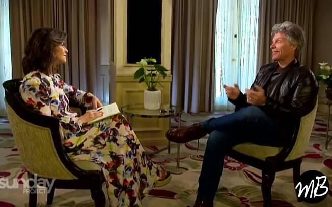 Bon Jovi em entrevista ao veículo Canadense