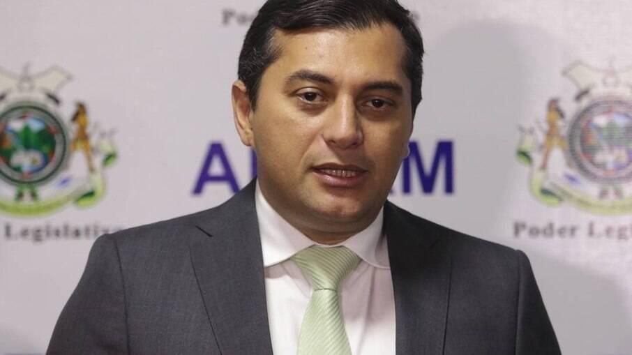 Governador do Amazonas Wilson Lima