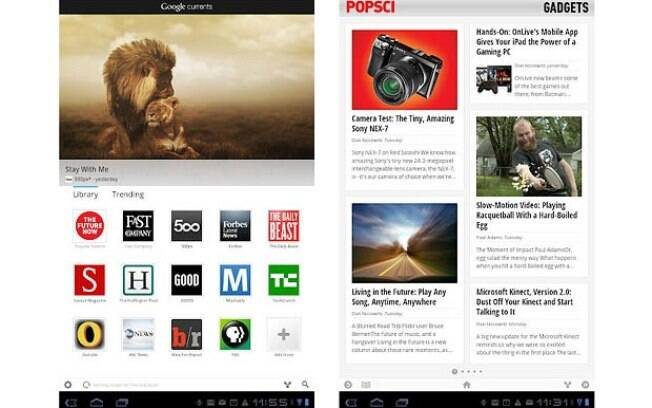 Google Currents facilita leitura de notícias em tablets e smartphones