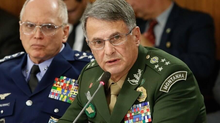 Edson Leal Pujol, comandante do Exército