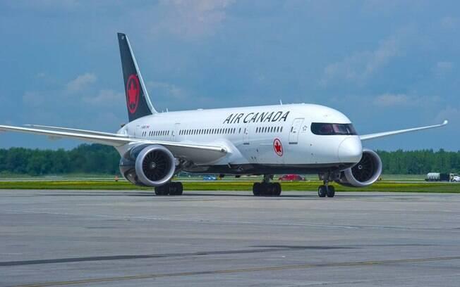 Air Canada disse que está analisando o caso