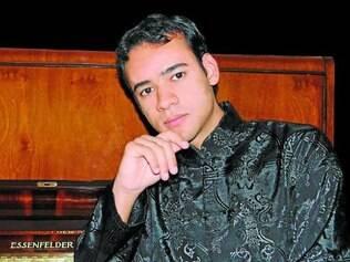 Jeferson Atos.   Contagense recebeu premiação em Belo Horizonte